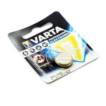 Элем.питания Varta PROFESSIONAL ELECTRONICS CR1632
